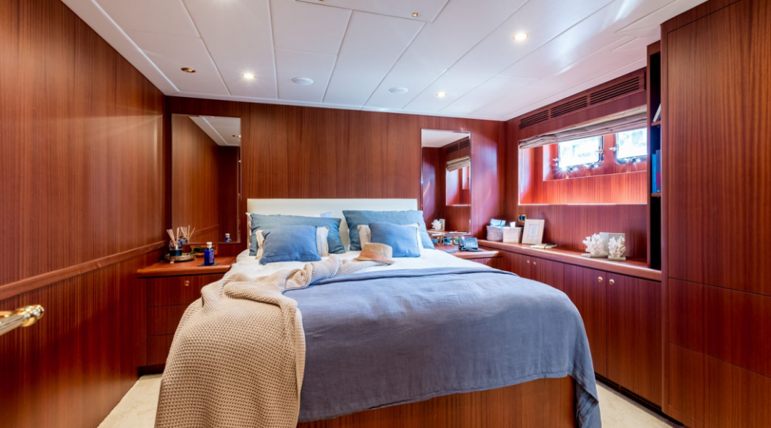 Motor Yacht Baltic Sea in the Balearics_Guest Stateroom